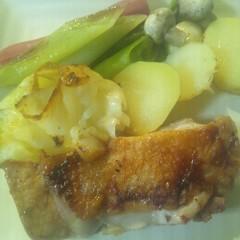 ストウブ☆鶏と野菜の蒸し焼き
