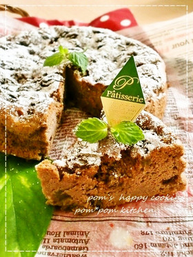 材料3つ♡チョコチーズケーキ