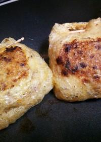 キムチ&コンビーフ&納豆包み