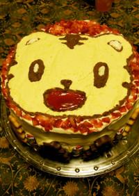 デコレーションケーキ(しまじろう)