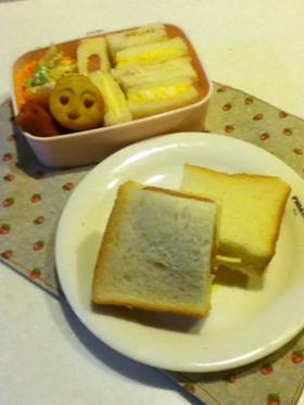 6枚切りでもサンドイッチ☆