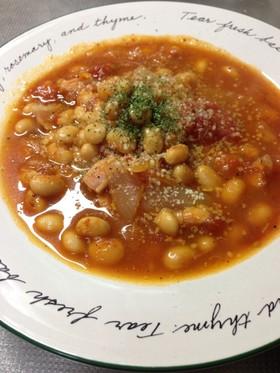 【糖質制限】大豆メインのトマトスープ