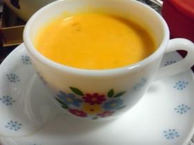 シリコンスチーマーで簡単かぼちゃスープ