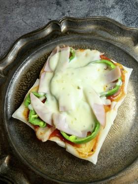 フライパンde餅ピザ♪