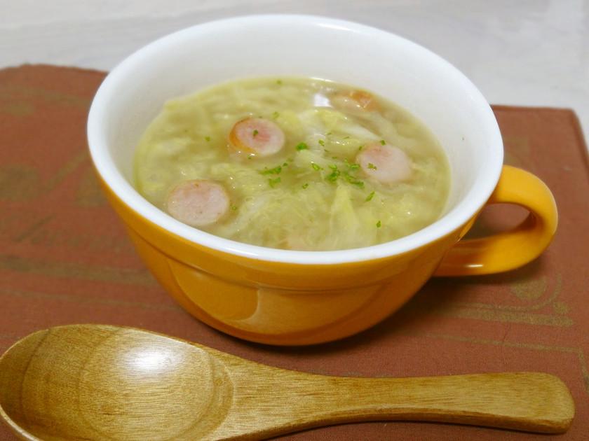 ほっこり♡優しいキャベツの千切りスープ