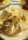 鯛のアラの潮鍋