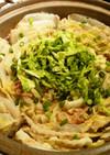 白菜と豚バラのミルフィーユ重ね鍋