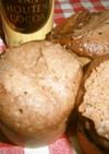 HMでココア蒸しパン~レンジで簡単