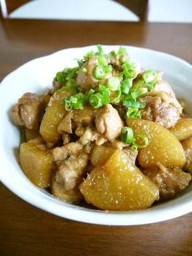 鶏肉と大根のうま煮♪