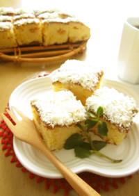 ホワイトジンジャーケーキ