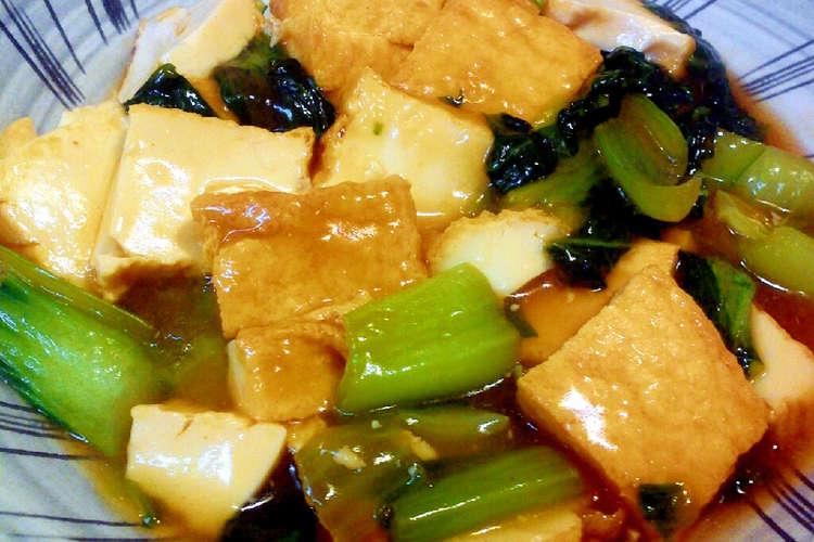 チンゲン 菜 レシピ 人気