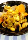 豚肉と大豆のピリ辛煮込。