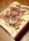 簡単*朝食に*シナモンハニートースト