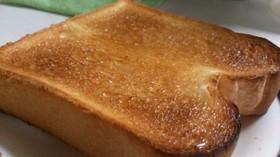 シンプルバタートースト