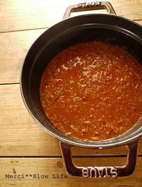 コクタップリ♪醤油麹入りミートソース
