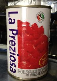 カルディのトマト缶でトマトソース