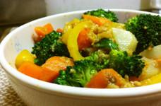 さっぱり美味しい!醤油麹de温野菜サラダ