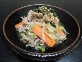時短レシピ☆残り野菜でたった5分の煮物