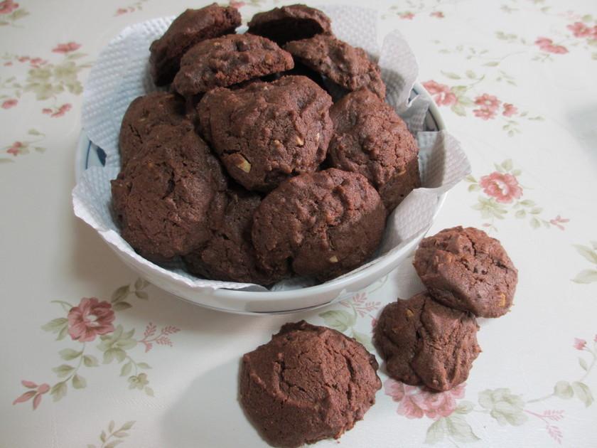 チョコのアメリカンドロップクッキー