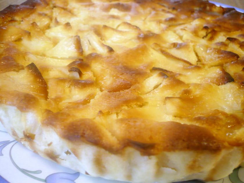 我が家の超定番♪りんごのケーキ