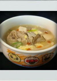 ■糖質制限■サンラータン☆簡単卵スープ鍋
