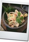 イカと野菜の和サラダ風和え物