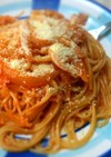 簡単☆チーズがトロり♪トマトパスタ