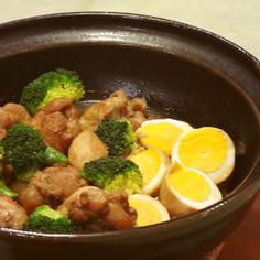 手羽元の黒酢煮❤土鍋で、圧力鍋でも