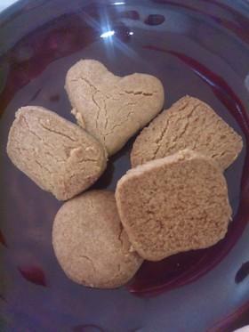 門外不出か?簡単濃厚☆きな粉クッキー