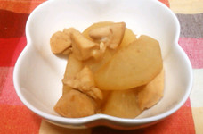簡単☆鶏胸と大根の煮物