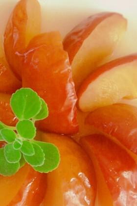 ジンジャーシロップの焼きリンゴ★