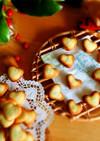 ♡ハートのチョコサンドクッキー♡