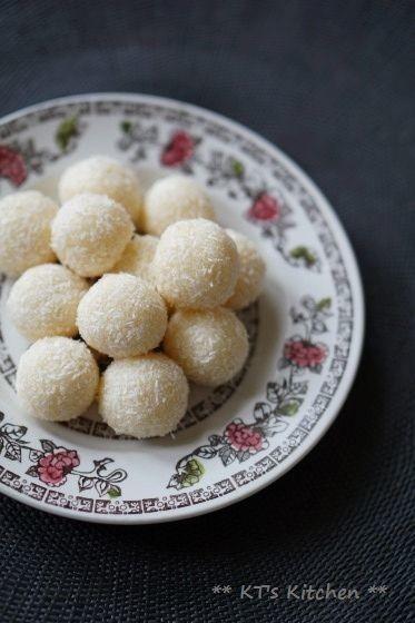 インドのお菓子★ミルキーココナッツボール