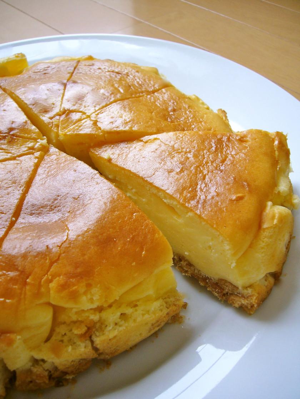 混ぜるだけ☆超簡単♪ベイクドチーズケーキ
