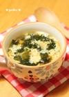 玉子とわかめのオイスターポン酢スープ☆