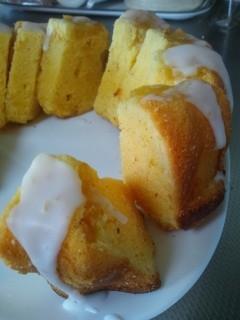 パイン バターケーキ♪