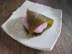 本格派桜餅(道明寺製)