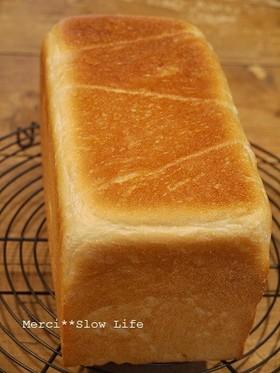 オーブンレンジ活用で時短角食パン2斤型用
