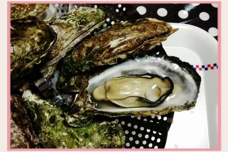 付き フライパン 殻 牡蠣