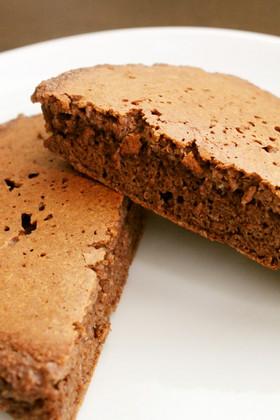 朝ランチおやつ!パン粉ココアホットケーキ