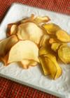 野菜と果実のチップス~レンジ&オーブン~