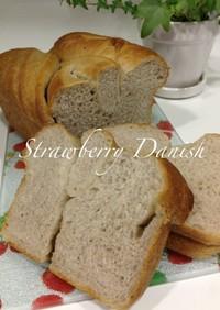 いちごのデニッシュ食パン