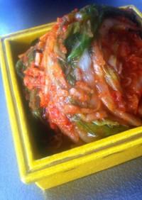 自家製 白菜キムチ