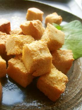 低糖質*高野豆腐の唐揚げ風