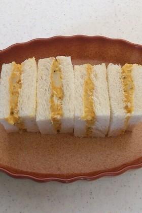 かぼちゃの煮物リメイク★サンドイッチ
