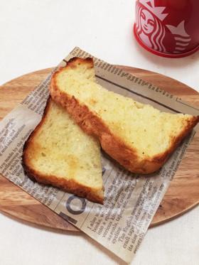 水飴でカリッと食パン