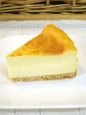 *基本のベイクドチーズケーキ*