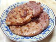 ハムの生姜焼きの写真