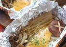 生鮭&きのこホイル焼き✿味噌マヨネーズ✿