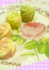 マーブル状のバラチョコ☆バレンタインに♥